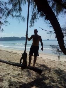 Beach swing Koh Payam
